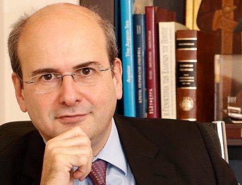 Χατζηδάκης: Δεν πρέπει να ενοχοποιούμε τη μεταλλευτική δραστηριότητα
